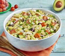 Avocado pasta salad