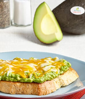 Avocado Toast with Cheese
