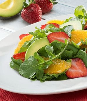 Summer Salad with Fruit
