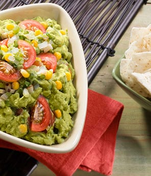 Rustic Guac with Corn - Avocados From Mexico
