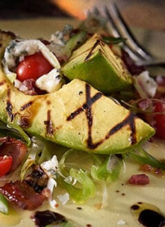 Grilled Avocado Wedge Cobb