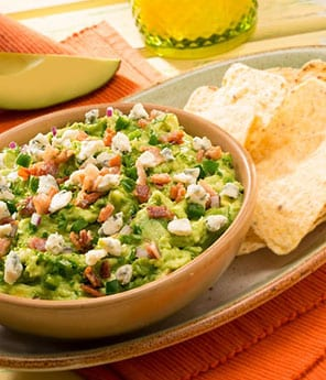 Bacon & Blue Cheese Guacamole