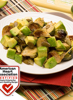 Avocado Brussel Sprouts Salad with Pumpkin Seeds
