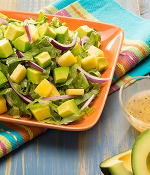 Avocado Pineapple Salad