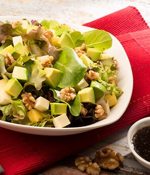 Avocado, Walnut and Pineapple Salad