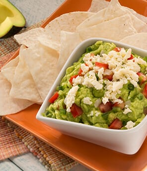 Fresh Cheese with Guacamole