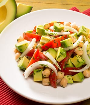 Chickpea Avocado Salad