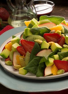 Fruit Spinach Salad