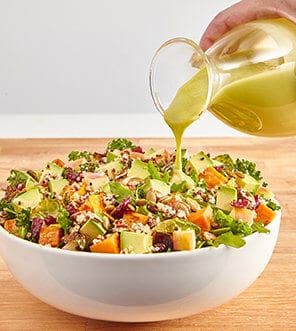 Harvest Bowl Salad with Balsamic Vinaigrette