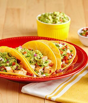 20 Minute Easy Chicken Tacos