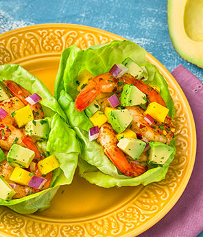 BEACH VIBES AVOCADO SHRIMP WRAP