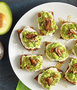 CHEESE BOARD GUAC TOAST