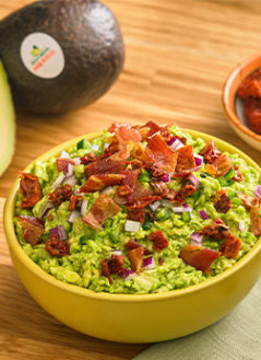 SUN DRIED TOMATO BACON GUACAMOLE